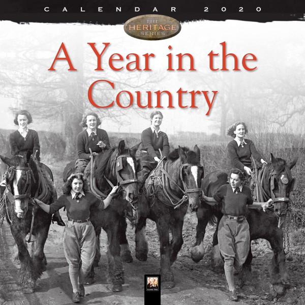 Cover image: A Year in the Country Wall Calendar 2020 (Art calendar)