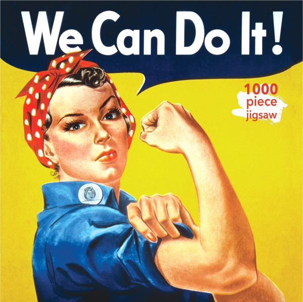 Cover image: Adult Jigsaw J Howard Miller: Rosie the Riveter Poster