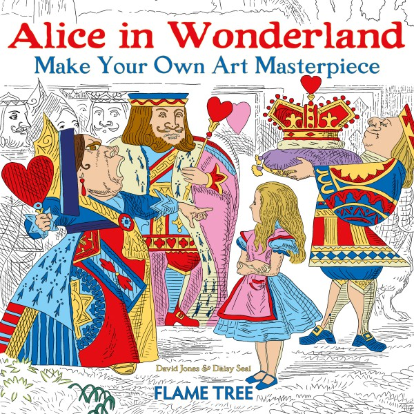 Cover image: Alice in Wonderland (Art Colouring Book)