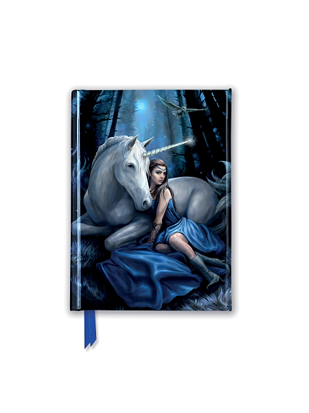 Cover image: Anne Stokes: Blue Moon (Foiled Pocket Journal)