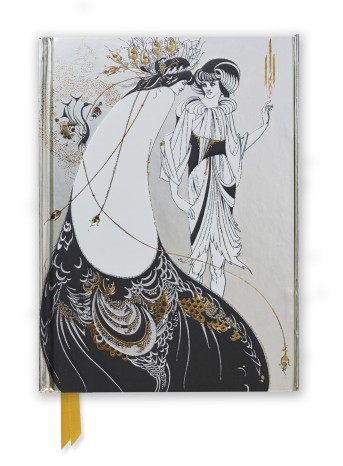Aubrey Beardsley: The Peacock Skirt (Foiled Journal)