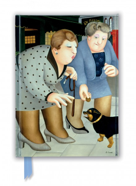 Cover image: Beryl Cook: Dogs (Foiled Journal)