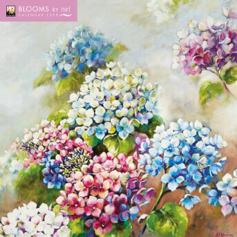 Blooms by Nel Whatmore Wall Calendar 2019 (Art Calendar)