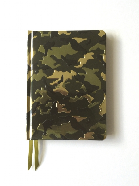Cover image: Camouflage (Contemporary Foiled Journal)