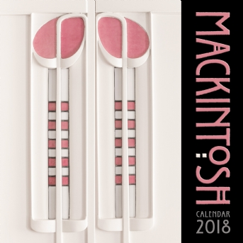Charles Rennie Mackintosh Wall Calendar 2018 (Art Calendar)