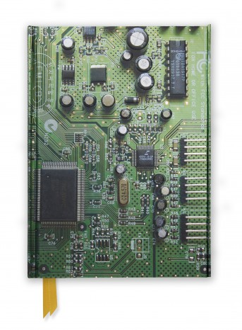 Circuit Board Green (Foiled Journal)
