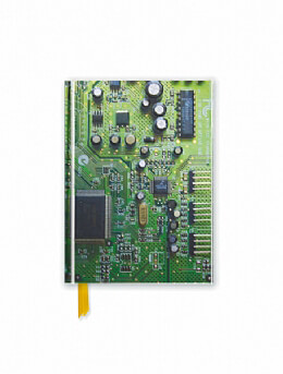 Circuit Board Green (Foiled Pocket Journal)