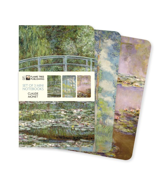 Cover image: Claude Monet Mini Notebook Collection