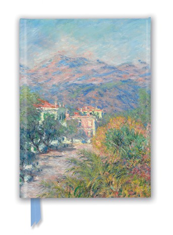 Claude Monet: Roman Road at Bordighera (Foiled Journal)