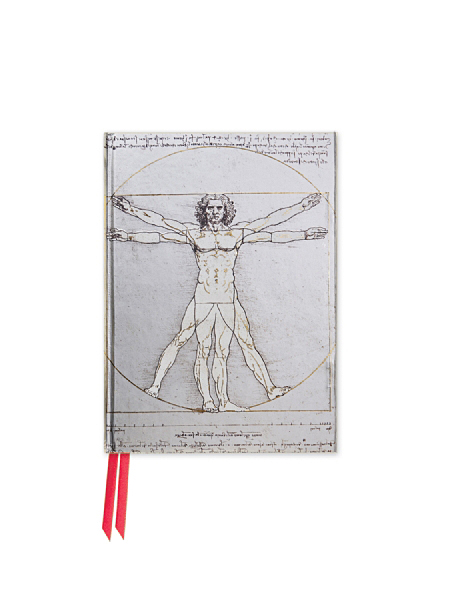 Cover image: Da Vinci: Vitruvian Man (Foiled Pocket Journal)