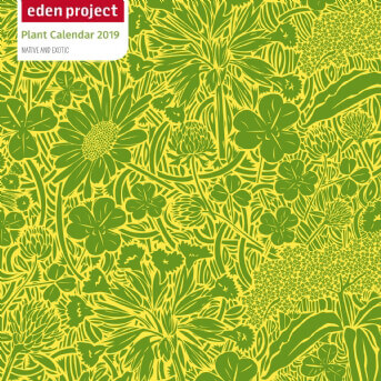 Eden Project Wall Calendar 2019 (Art Calendar)