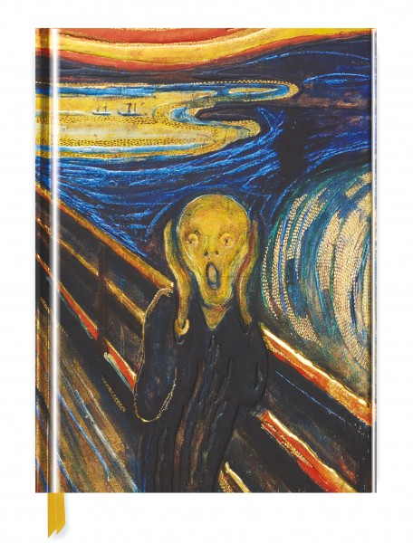 Cover image: Edvard Munch: The Scream (Blank Sketch Book)