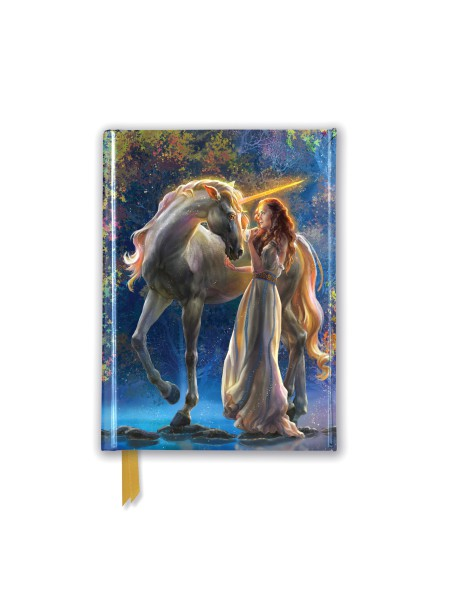 Cover image: Elena Goryachkina: Sophia and the Unicorn (Foiled Pocket Journal)