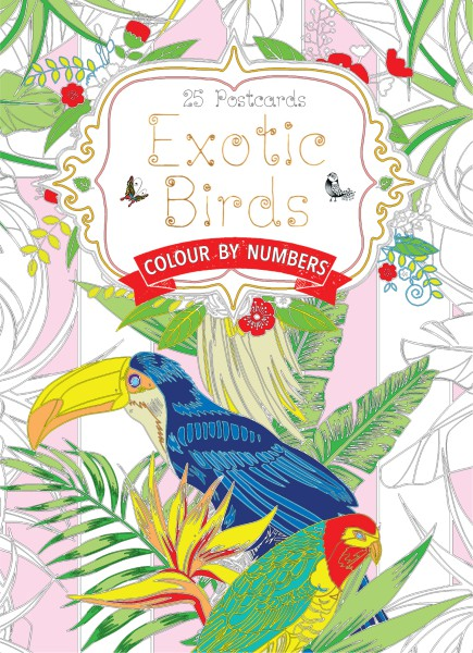 Cover image: Exotic Birds Postcard Book