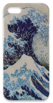 Flame Tree iPhone Case (Great Wave)
