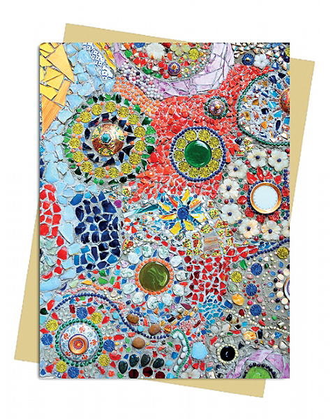Gaudi inspired by mosaic greeting card flame tree publishing gaudi inspired by mosaic greeting card m4hsunfo