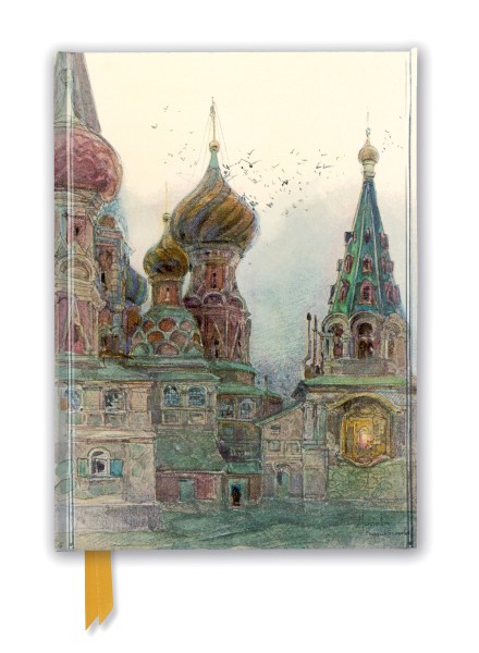 Cover image: George Kossiakoff: St Vasily, Moscow (Foiled Journal)