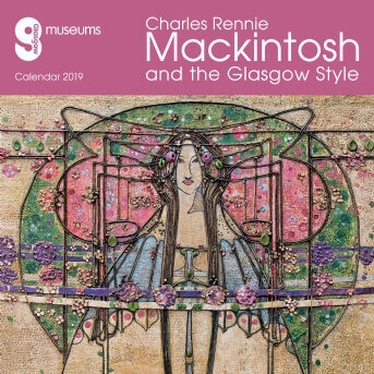 Glasgow Museums - Mackintosh & the Glasgow Style 2019 (Art Calendar)