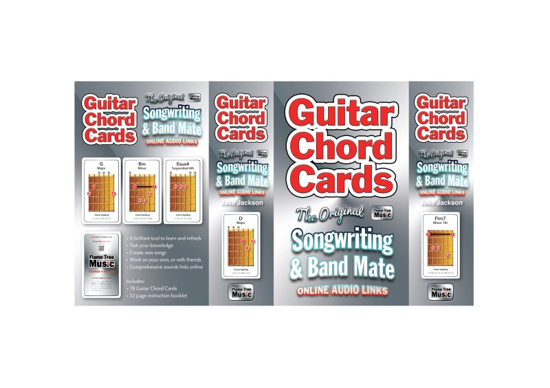 Guitar Chords Card Pack - Flame Tree Publishing