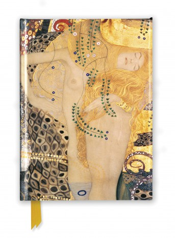 Gustav Klimt: Water Serpents I (Foiled Journal)