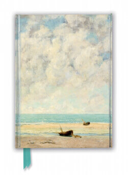 Gustave Courbet: The Calm Sea (Foiled Journal)