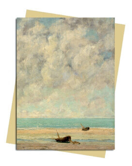 Gustave Courbet: The Calm Sea Greeting Card