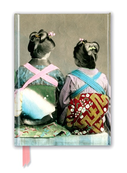 Cover image: Japanese Dancers Wearing Traditional Kimonos (Foiled Journal)