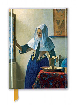 Johannes Vermeer: Young Woman with a Water Pitcher (Foiled Journal)