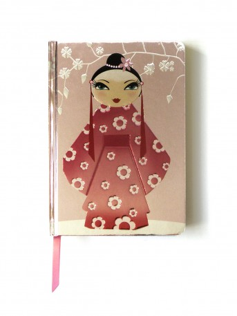Kimono Girl (Contemporary Foiled Journal)