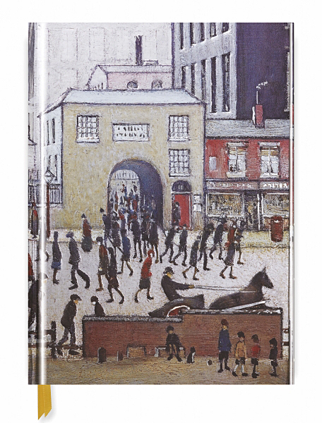 Cover image: L.S Lowry: Coming from the Mill (Blank Sketch Book)