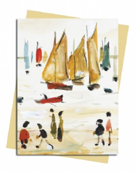 L.S. Lowry: Yachts Greeting Card
