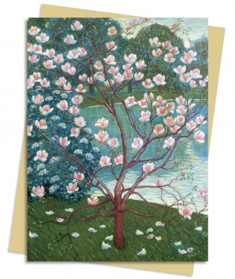 Magnolia (List) Greeting Card