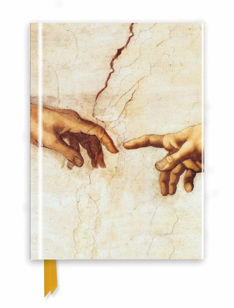 Cover image: Michelangelo: Creation Hands (Foiled Journal)