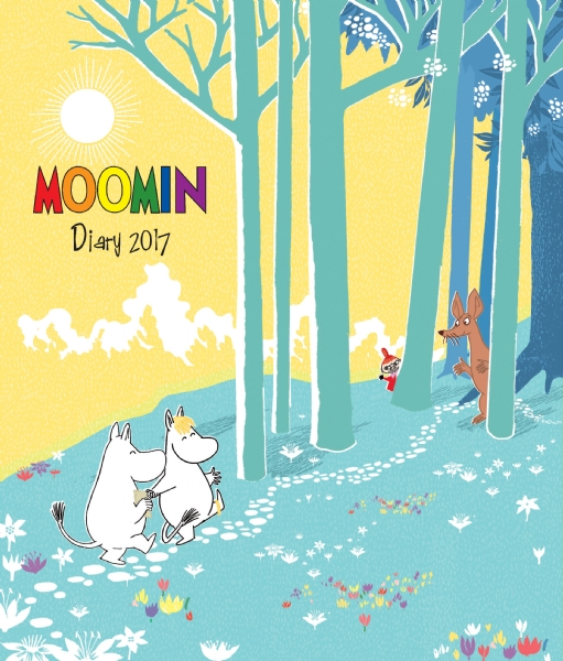 Cover image: Moomin desk diary 2017