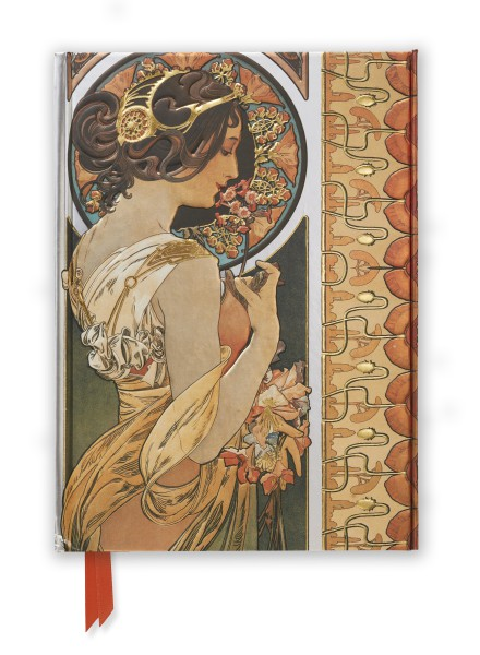 Cover image: Mucha: Cowslip and Documents Decoratifs (Foiled Journal)