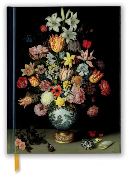 Cover image: National Gallery: Bosschaert: A Still Life of Flowers (Blank Sketch Book)