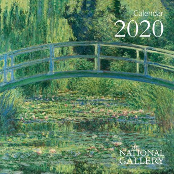 National Gallery - Claude Monet - Mini Wall calendar 2020 (Art Calendar)