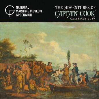 National Maritime Museums - Adventures of Captain Cook Wall Calendar 2019