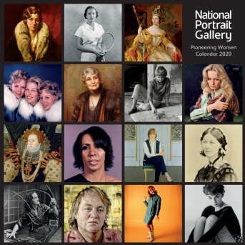 National Portrait Gallery – Pioneering Women Wall Calendar 2020 (Art Calendar)