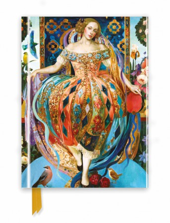 Olga Suvorova: Commedia Dell'arte (Foiled Journal)