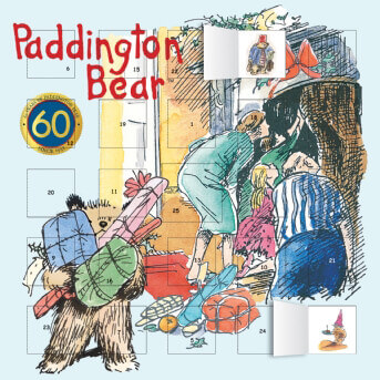 Paddington 2018 Anniversary advent calendar (with stickers)