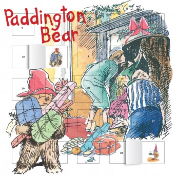 Paddington Bear advent calendar (with stickers)
