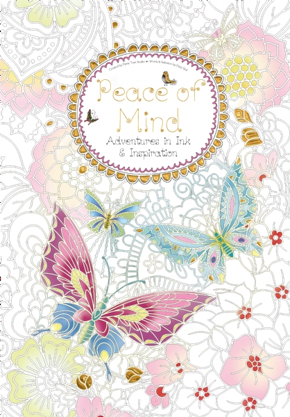 Cover image: Peace of Mind (Colouring Book)