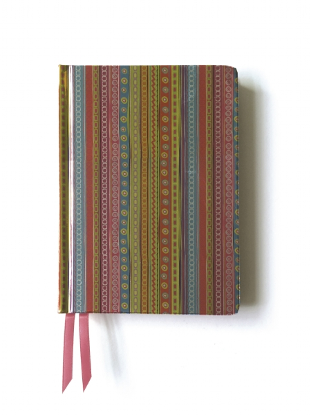 Cover image: Pink & Green Stripes. (Contemporary Foiled Journal)