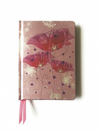 Pink Lilies (Contemporary Foiled Journal)