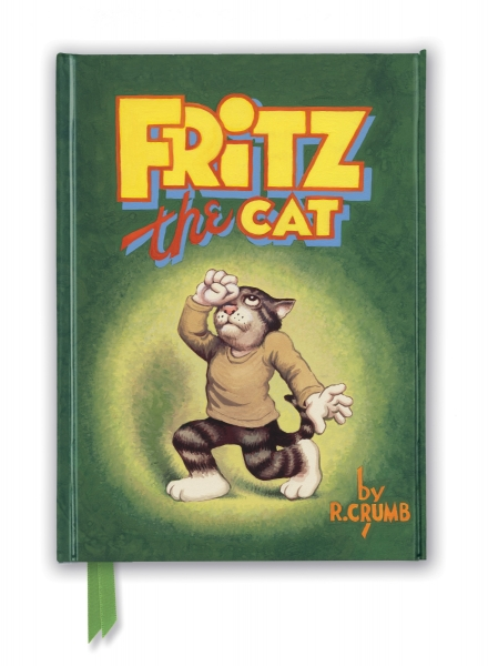 Cover image: R. Crumb: Fritz the Cat (Foiled Journal)