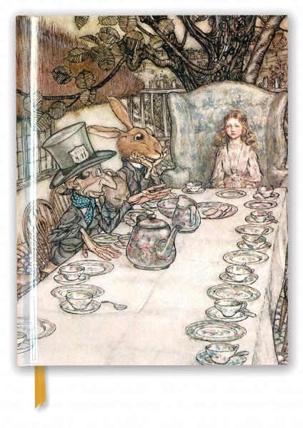Cover image: Rackham: Alice In Wonderland Tea Party (Blank Sketch Book)