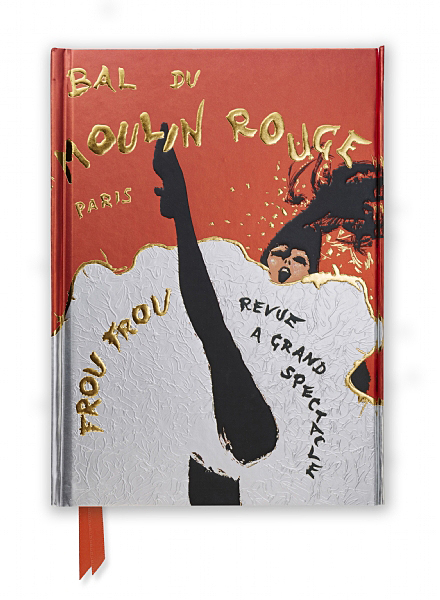 Cover image: René Gruau: Bal du Moulin Rouge (Foiled Journal)
