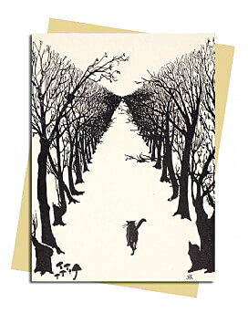 Rudyard Kipling: The Cat that Walked by Himself Greeting Card