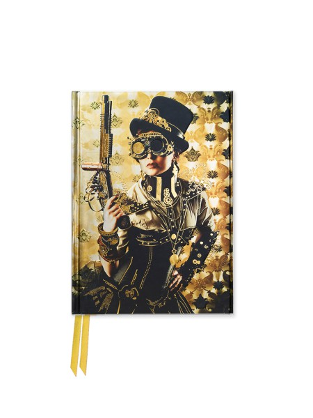 Cover image: Steampunk Lady (Foiled Pocket Journal)